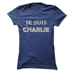 """Je Suis Charlie"" T-Shirts Blue (Ladies) T Shirt, Hoodie, Sweatshirt"