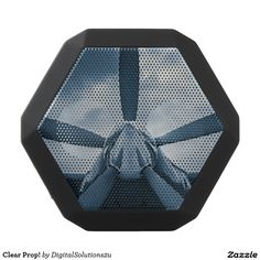 Clear Prop! Black Bluetooth Speaker