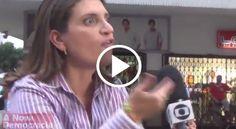 Política na Rede: Jornalista da Globo tem acesso de raiva e é rechaçada em Copacabana; veja o vídeo