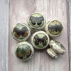 Happiness is a butterfly! by Claire Watkins on Etsy