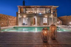 Tramonto private Pool Villa with amazing view in the mountain village of Volimes, in Zakynthos Island Greece Zakynthos Greece, Greece Travel, Greek Islands, Private Pool, Luxury Villa, Traditional House, Swimming Pools, Mansions, House Styles