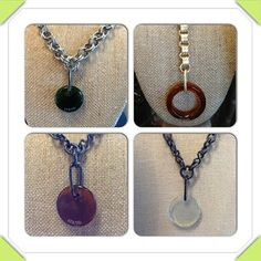 A variety of antique glass necklaces.    Instagram Photo Feed on the Web - Gramfeed | # splurgesboutique