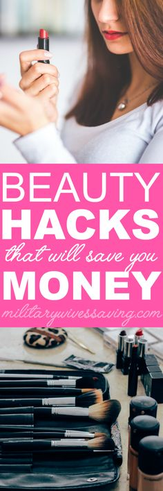 Clever beauty hacks