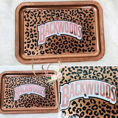 Excited to share this item from my shop: Custom Rose Gold Leopard Print Backwoods Rolling Tray Diy Resin Tray, Diy Resin Crafts, Resin Art, Hollywood Regency, Marijuana Decor, Style At Home, Glass Pipes And Bongs, Dollar Tree Finds, Handmade Paint