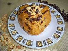 Peanut Butter Chocolate Chip Microwave cake