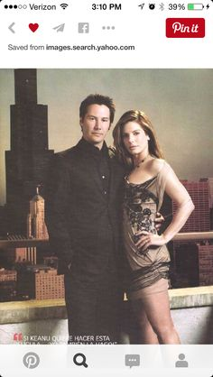 Gorgeous Sandra Bullock and Keanu Reeves.Awesome couple & not to mention very cute together 💚 Sandra Bullock, Hot Actors, Actors & Actresses, Sandro, The Boy Next Door, Julia Roberts, Special People, Tom Cruise, Mexican Art
