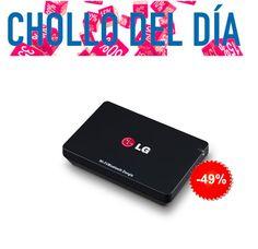 #Chollo para Smart TV LG! #Dongle LG!! No te quedes atrás, disfruta de Wifi en la tele! #mzof http://mzof.es/blog/dongle-lg-an-wf500-chollo-del-dia/223
