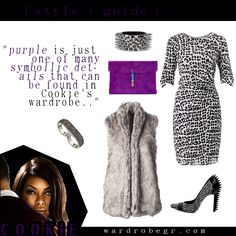"""Purple, symbolic of royalty, represents a common reference in Cookie's closet"" #TeamCookie #CookieLyon #EmpireFox 