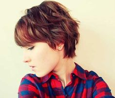 i kinda like this pixie cut, might be one I would consider doing if I ever do a pixie cut