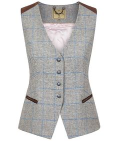 Complete your classic Dubarry look this season and beyond with the Women's Dubarry Daisy Tweed Waistcoat, perfect for layering up in style to complete your cou… Vest Outfits For Women, Clothes For Women, New Mode, Tweed Waistcoat, Suit Fashion, Womens Fashion, Best Leather Jackets, Country Attire, Women Wear