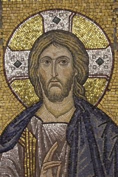 Byzantine Icons, Byzantine Art, Early Christian, Christian Art, Religious Icons, Religious Art, Holly Pictures, Christ Pantocrator, Mosaic Portrait