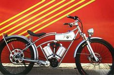 With an open frame inspired by early Indian motorcycles, Juicer bikes draw attention when they roll down the street—from green vehicle enthusiasts as well as stereotypical biker types. This is all part of Twomey's plan to make electric bikes just as cool as their fossil fuel counterparts.