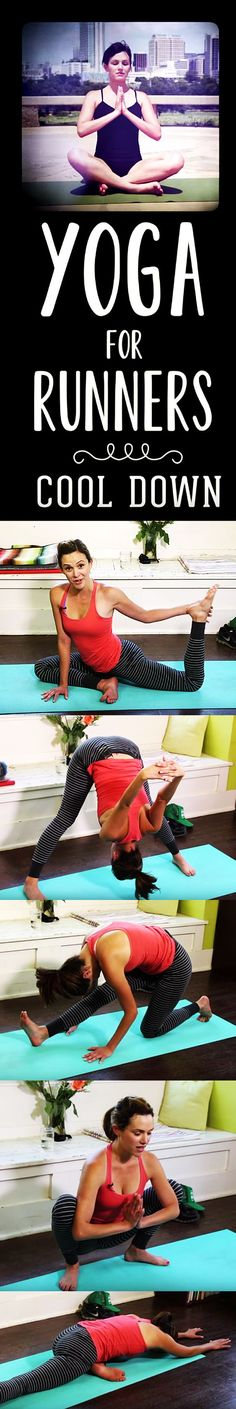 Feeling tight and fighting off injuries? Try yoga for runners!