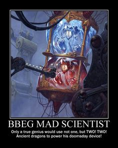 The Looney DM: Mad Scientist