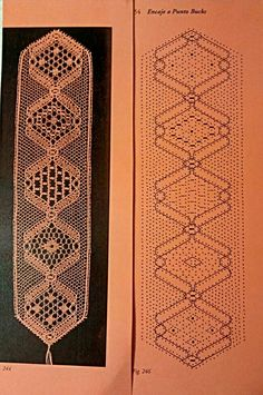 Bobbin Lace bookmark to try Hairpin Lace Crochet, Crochet Motif, Crochet Edgings, Bobbin Lace Patterns, Bead Loom Patterns, Bobbin Lacemaking, Lace Earrings, Lace Making, Antique Lace