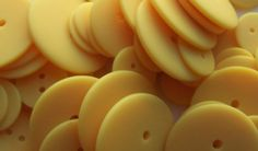 BULK  Buttons  Yellow  OVER 50 by Boxtreasures on Etsy, $4.49