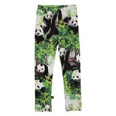 Molo Kids Niki Pandas Leggings. Available at www.trendytotsboutique.co.uk