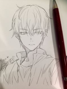 (Y/N) Kamado a young cheerful girl, third to the eldest sibling, live… Anime Boy Sketch, Anime Drawings Sketches, Anime Drawing Styles, Guy Drawing, Manga Drawing, Manga Art, Cute Drawings, Anime Art, Drawing Ideas