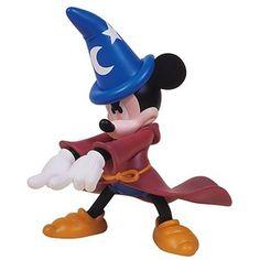 Medicom VCD Disney Fantasia Sorcerer Mickey Mouse Vinyl Collector Doll