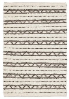 Fusion Interweave Wool and Cotton Ivory Rug