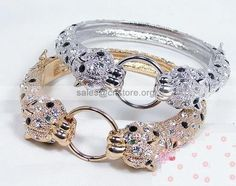 attractive original #cartier #leopard #diamond white gold ring gold #bracelet boutique