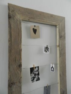 Clever use of an old frame Pallet Art, Inspiration Wall, Deco Design, Diy Frame, Cool Rooms, Photo Displays, Frames On Wall, Decoration, Home Accessories