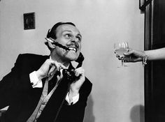 English actor-comedian Terry Thomas , real name Thomas Terry Hoar-Stevens, demonstrates how an exhausted husband slaves late into the night, to keep his wife in idleness and luxury. Get premium, high resolution news photos at Getty Images Terry Thomas, British Actresses, Actors & Actresses, Comedy Actors, Leica, Prince Of Wales Theatre, The Life, Old Movies, Funny People