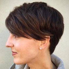 Short Haircut for Thick Hair