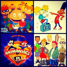 Great cartoons of the 90's