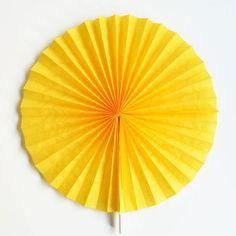 Little Rosette gelb 25 cm bei www.party-princess.de
