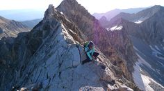 The Knife Edge on Capitol Peak.  Definitely a bucket list hike