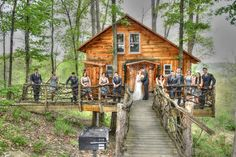 Who wants to use a tree house for their honeymoon suite. You can do that if your wedding is at The Mohicans.
