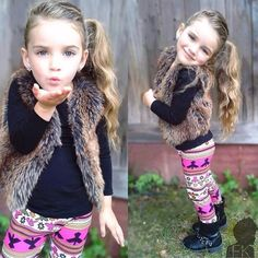 so cute fashionable little girl