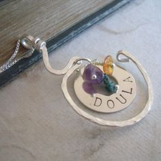 Doula Sterling Silver Necklace by moonovermaize on Etsy, $52.00