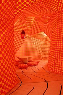 Orange, for when you needs to get things done in a hurry! You won& be able to relax, but you can accomplish a lot in this room.