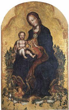 Vierge à l'Enfant, Gentile da Fabriano, vers 1405
