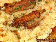 Romanian Food, Cooking Recipes, Healthy Recipes, Pork, Food And Drink, Rice, Tasty, Meals, Chicken