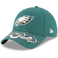 new style 9a6e2 649be Philadelphia Eagles New Era Women s 2019 NFL Draft On-Stage Official  9TWENTY Adjustable Hat – Green