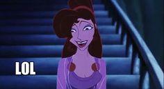 Meg, you look... unique today...   nigel-thornberry-gif-meg-hercules.gif