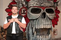 HELLS ANGELS MC: DIE ROT-WEISSE MACHT AUS LEIPZIG!   Harley Dirk Bieder