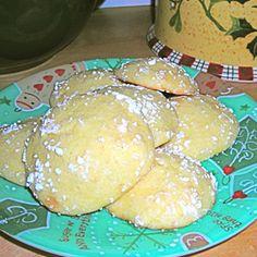 Italian Orange Juice Cookies w/butter instead of lard