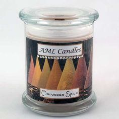 Moroccan Spice Medium Status Jar - Anne Makes Lovely Candles