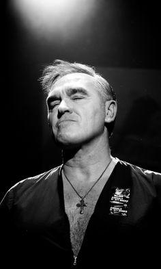 (Jeremy Harmon | The Salt Lake Tribune) Morrissey performs at Kingsbury Hall on Friday, May 16, 2014.