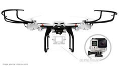Are you a GoPro fanatic?  Take a look at the top 7 drones for GoPro >>> http://quadcopterarena.com/best-drones-for-gopro-camera/