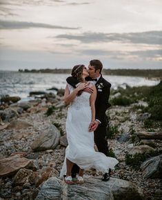 Everthine Bride (@everthinebridal) • #realeverthinebride in Anna Campbell | relaxed elegance | beaded wedding dress | beach wedding | Anna Campbell, Engagement Session, Love Story, Destination Wedding, Glamour, Dress Beach, Gowns, Bride, Couple Photos
