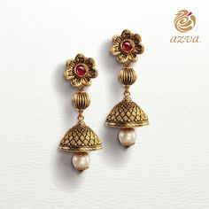 Which outfit would these #Azva earrings complement perfectly? #BeautifulBride
