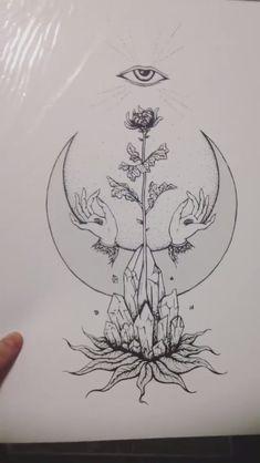 Trendy tattoo back henna sun moon ideas - Body art - Tattoo Trendy Tattoos, New Tattoos, Body Art Tattoos, Henna Tattoos, Back Neck Tattoos, Back Of Neck Tattoo, Chicano Tattoos, Celtic Tattoos, Popular Tattoos