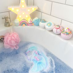 This is the cutest bath ever! http://beautifulclearskin.net/