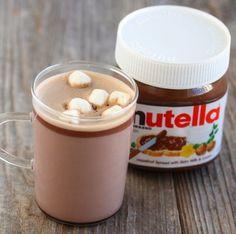 Chocolate quente com Nutella | 15 receitas deliciosas para arruinar sua dieta em dias frios