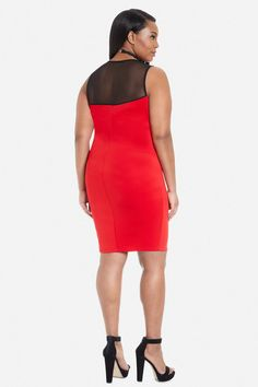 modamix | watercolor scuba dress (plus size | scuba dress and scubas